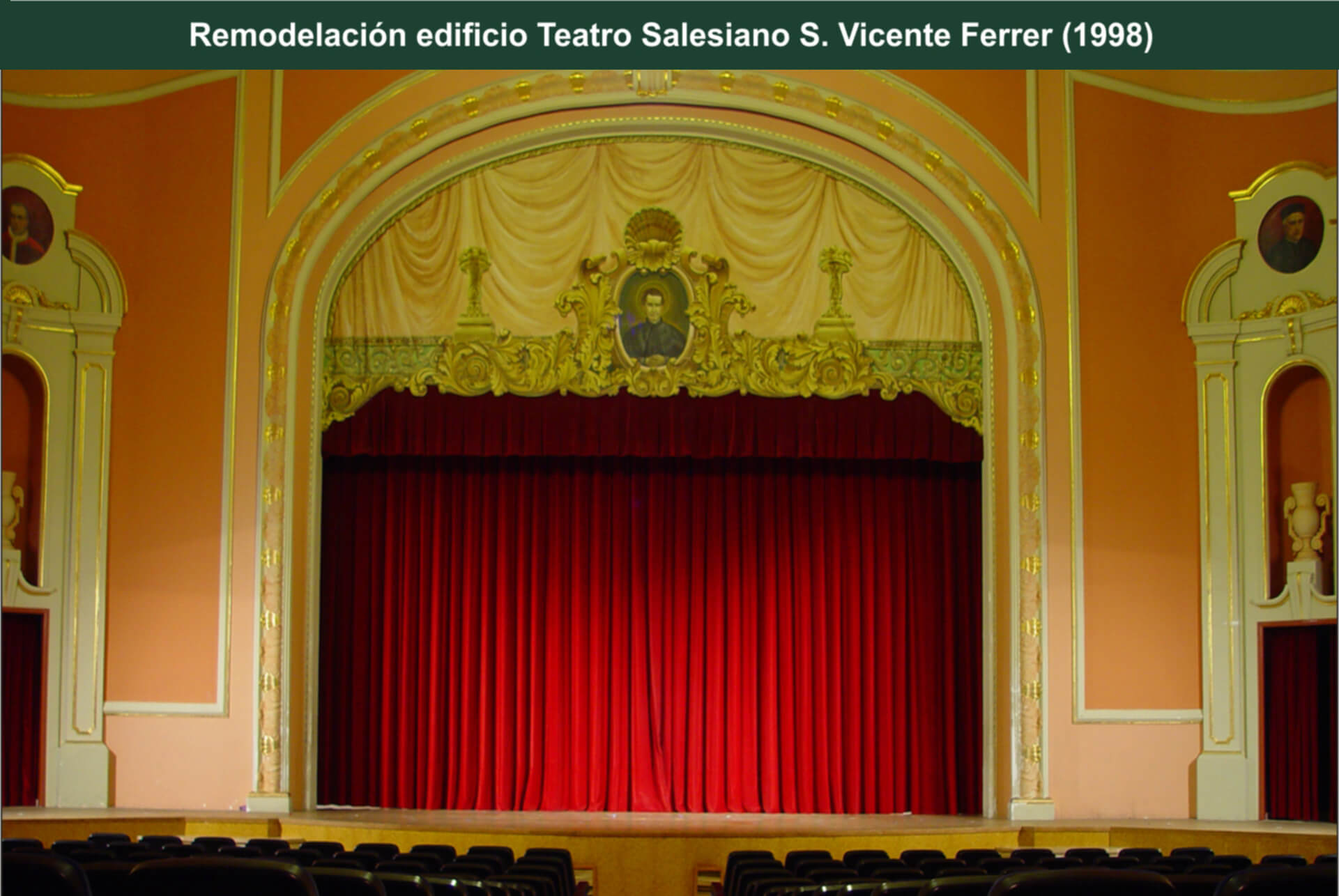 Remodelación Teatro Salesiano Vicente Ferrer