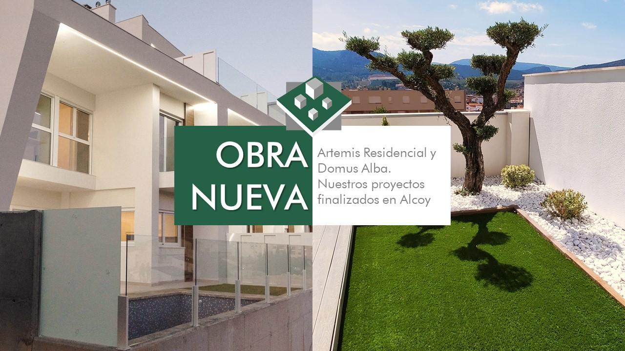 Obra Nueva En Alcoy, Artemis Residencial Y Domus Alba Nuestros Proyectos Finalizados